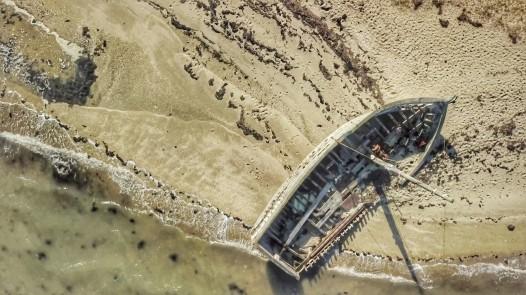 Ile d'Arz drone bretagne